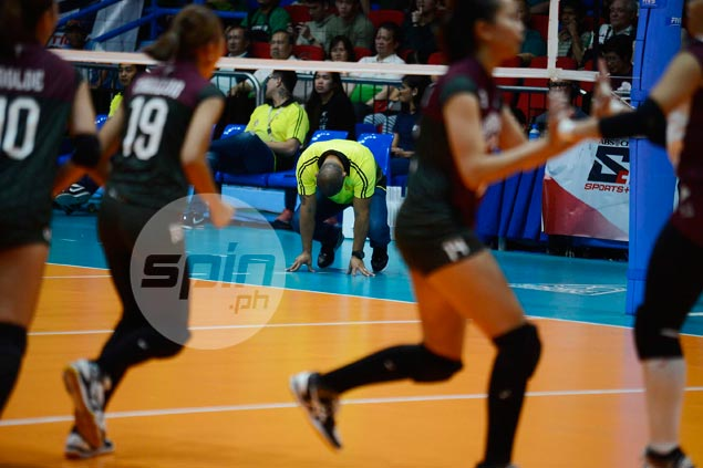 UST Tigresses' season going down a slippery slope, but coach refuses to panic