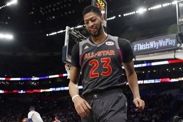 Anthony Davis sets new NBA All Star record with 52 points as West downs East
