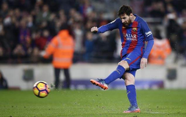 Lionel Messi 90th minute penalty lifts Barcelona over Leganes in La Liga