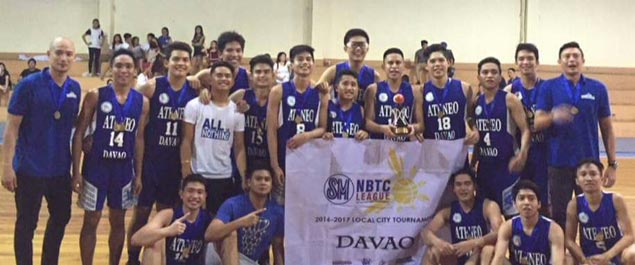Foul-plagued Escandor hits five treys in final period to lead Ateneo de Davao to NBTC title