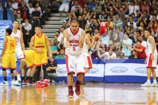 Ginebra shows grit, composure under pressure of Game 7, outduels Star to reach PBA Finals