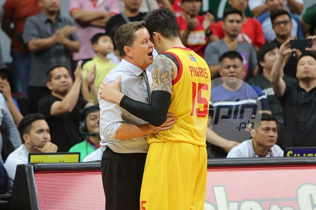 Marc Pingris reveals what he and former coach Cone talked about late in Game Seven
