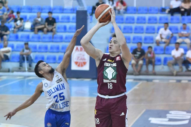 Paul Desiderio continues fine play, powers UP Maroons to 42-point rout of Diliman College