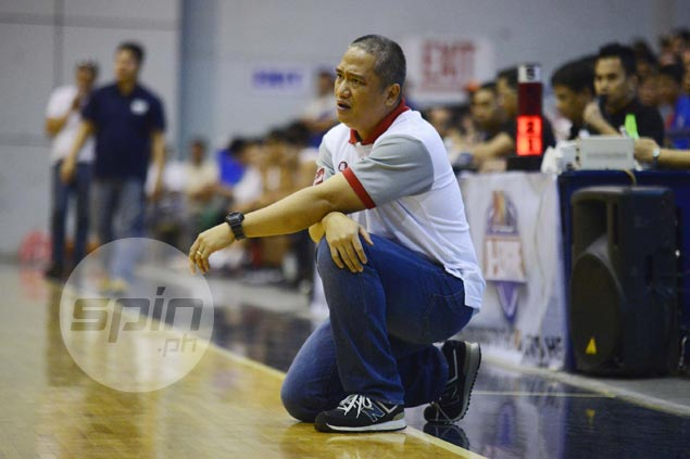 Coach Boyet Fernandez hopes Red Lions learned lesson in tough match against struggling Altas