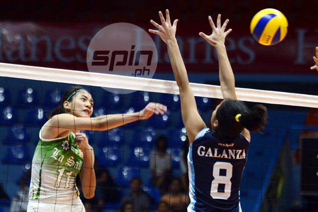 La Salle makes quick work of winless Adamson to gain share of second spot with Ateneo