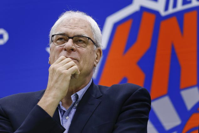 Nearly three years into executive role, Phil Jackson no closer to fixing woeful Knicks