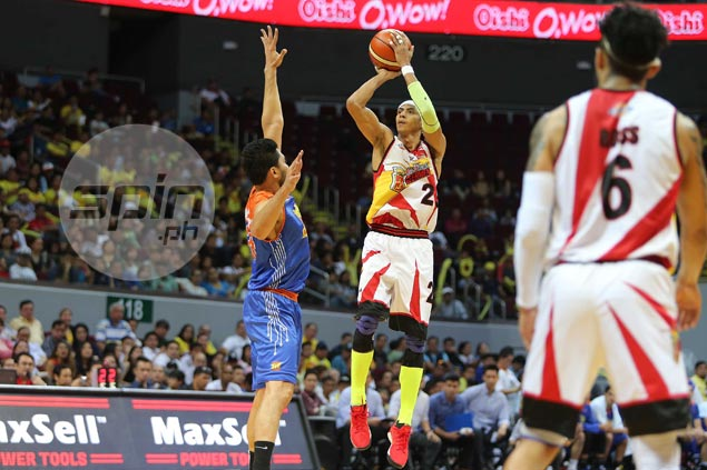 Arwind Santos trumpets San Miguel edge in terms of chemistry, depth, experience