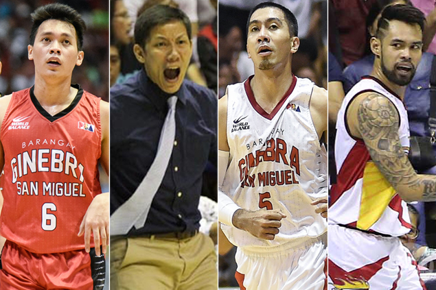 Last time Ginebra, SMB met in finals, Tenorio was a Beerman, Tubid a King, Thompson still into BMX bikes