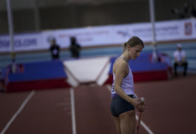 Track and field authorities clear three Russians to compete at European indoors