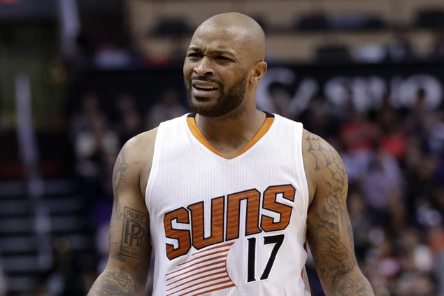 Suns send PJ Tucker to Toronto for Jared Sullinger, get Mike Scott from Hawks, says source