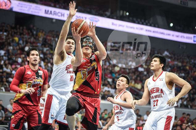 Red-hot San Miguel delivers strong opening statement with ugly romp over Ginebra