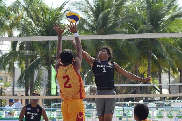 Lyceum's Jhonel Badua, Joeward Presnede make it seven straight victories in NCAA beach volleyball