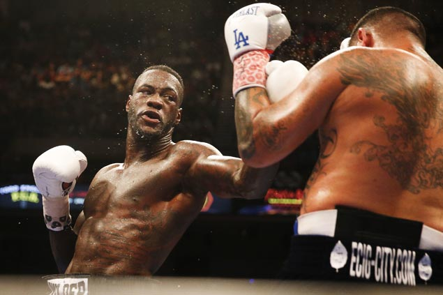 Deontay Wilder puts WBC heavyweight title on the line against unbeaten Luis Ortiz
