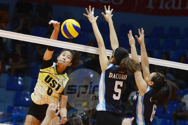 UST Tigresses get back on track with rout of winless Adamson Lady Falcons