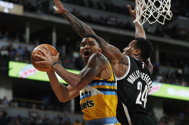 Gary Harris shines as Nuggets end two-game slide and send Nets to 15th straight loss