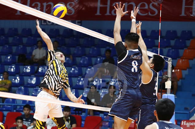Another five-set dogfight for UST Tigers, but this time they eke out a win over Adamson Falcons