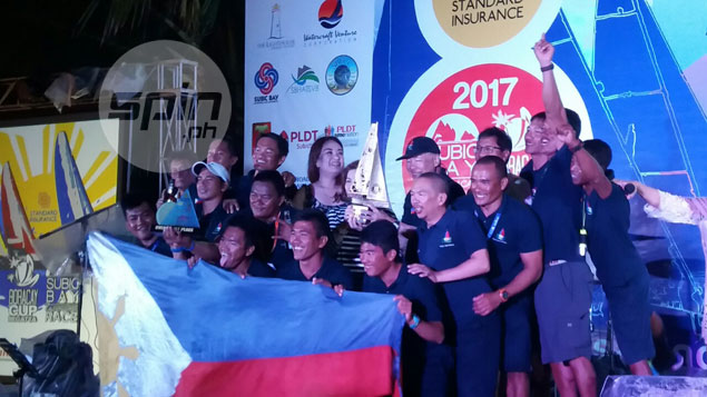Centennial III keeps date with destiny by completing hat-trick in Subic to Boracay race