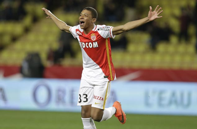 Monaco three points clear at the top of Ligue 1 after win over Guingamp
