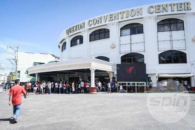 Sellout crowd expected for Game Two as giant screen installed outside Quezon Convention Center