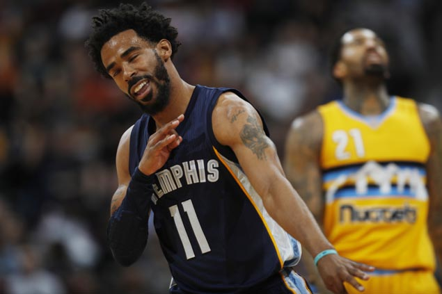 Mike Conley leads fourth-quarter surge as Grizzlies get by Nuggets