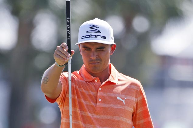 Rickie Fowler overcomes shaky play to win by four at PGA National