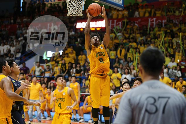 'Baby Beast' Jack Gloria glad to be compared to idol Abueva after ending FEU stint as champ