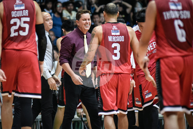 Cone glad to have Caguioa, Helterbrand fresh for Game 3 after sitting out physically draining road win