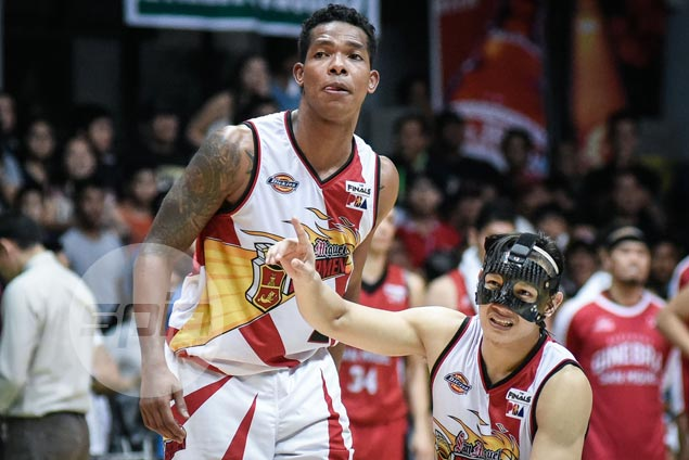 Gabby Espinas, Beermen eager to move past tough loss to Kings