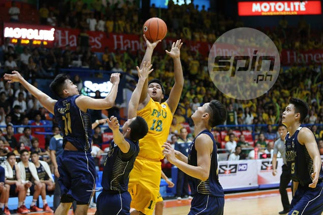 Tryout walk-in Kenji Roman happy to repay FEU faith with big game in title-clincher for Baby Tams