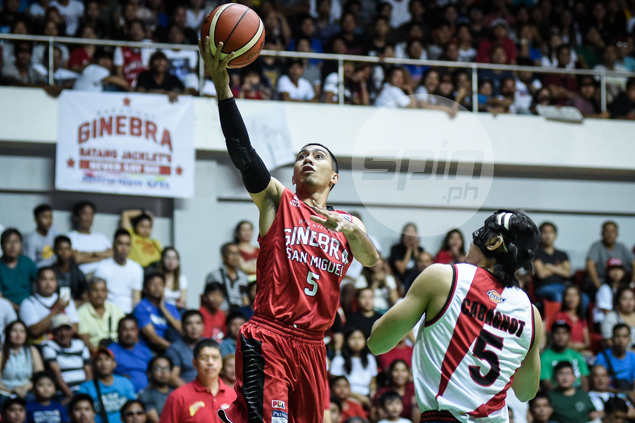 Foul-plagued LA Tenorio lauds Ginebra young guns for always stepping up in his absence