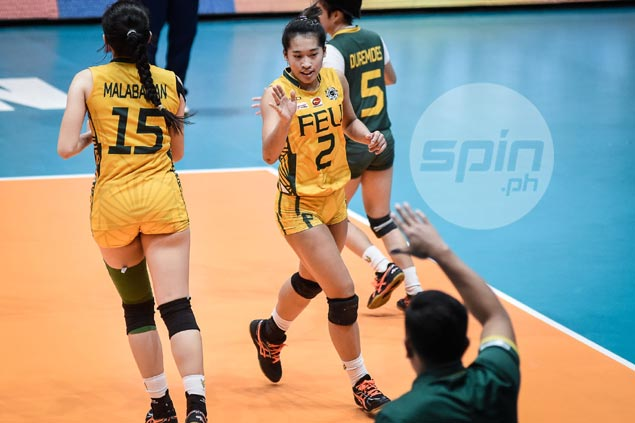 FEU gaining on leaders with Bernadeth Pons showing newfound versatility
