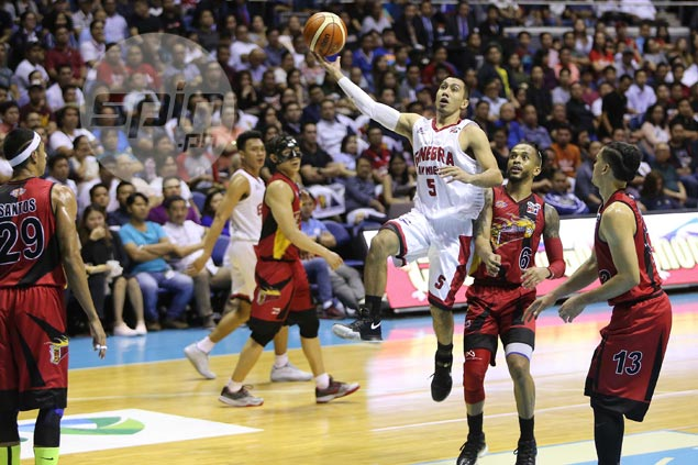 LA Tenorio laments failure to close out SMB shooters costs Ginebra in Game Three