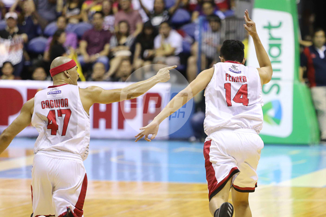 Ginebra rookie Kevin Ferrer vows payback as trash talk in PBA Finals heats up