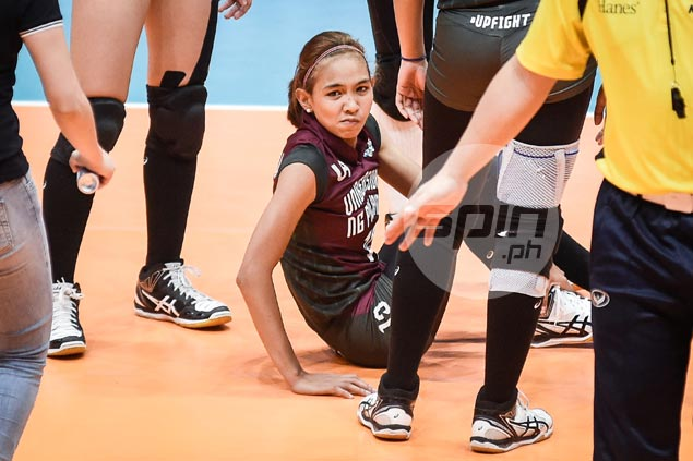 Sigh of relief for UP Lady Maroons as Nicole Tiamzon cleared to play against NU