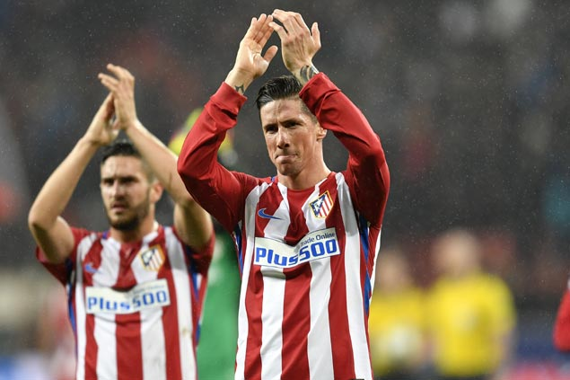 Fernando Torres now 'stable and conscious' in hospital after head injury in Atletico Madrid match