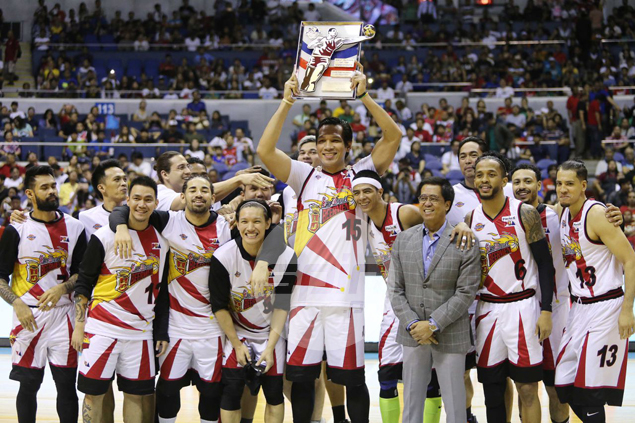 Fajardo ties mentor Ildefonso's record with fifth Best Player of Conference award