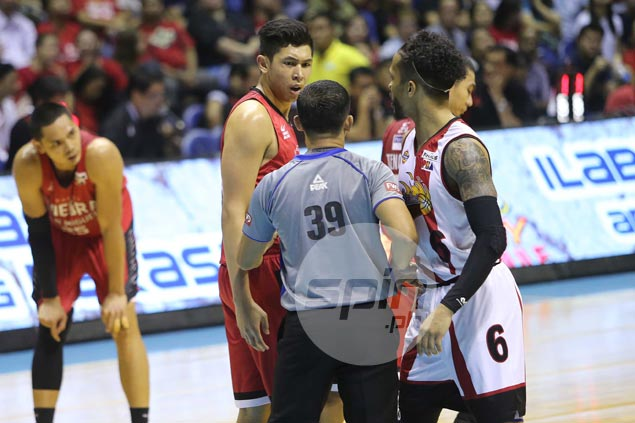 No backing down for feisty Ginebra rookie Kevin Ferrer despite losing match-up with SMB vets