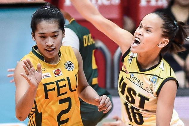 FEU, UST brace for intense battle in clash of in-form teams in UAAP volleyball