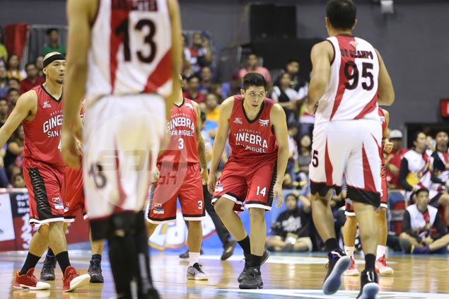 Cone hopes rookie Kevin Ferrer learns lesson, emerges better after spat with Arwind Santos