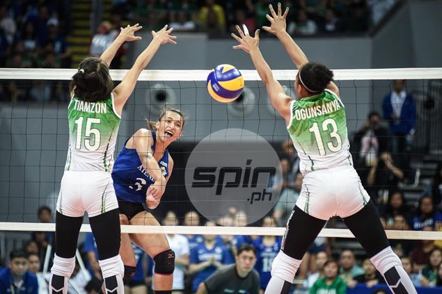 Michelle Morente makes up for lost time, reintroduces herself to La Salle in a big way