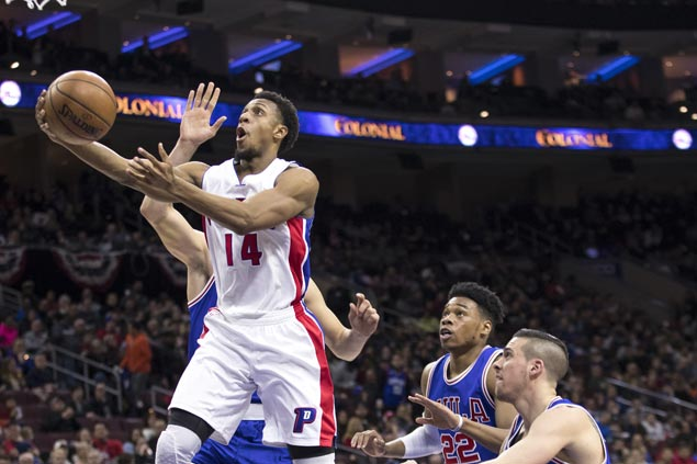 Pistons rout injury-riddled Sixers to get back on track