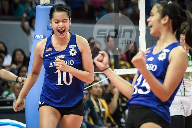 Well worth the wait as Kat Tolentino savors 'crazy experience' in first Ateneo-La Salle match