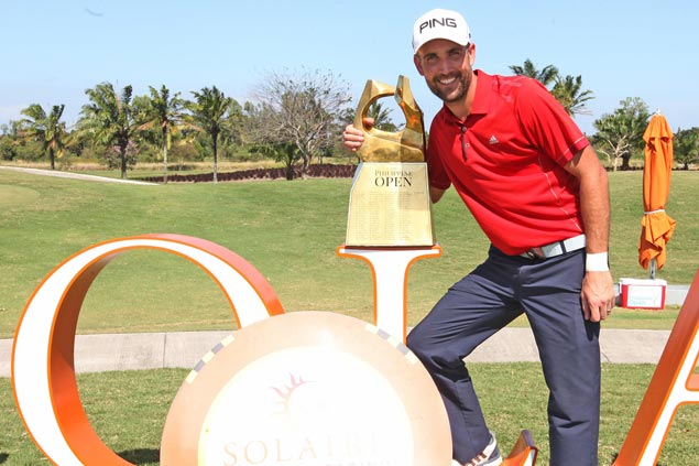 Steve Lewton beats Veerman with sandy par in thrilling Solaire Philippine Open playoff