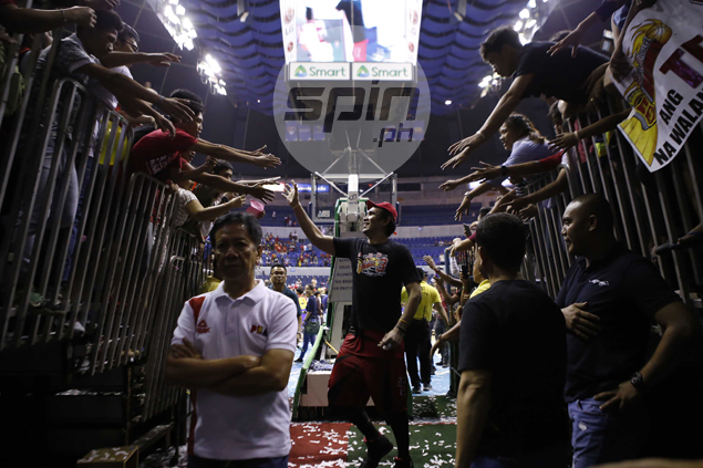 Fajardo feels it would've been entirely different series had Slaughter been around for Ginebra