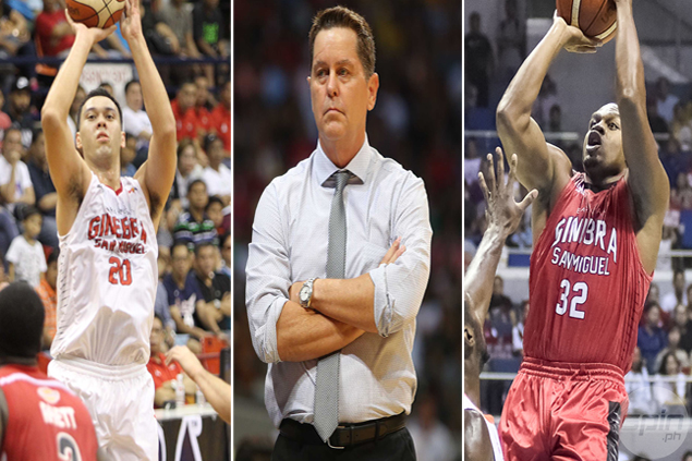 With Slaughter still out and Brownlee on board, Ginebra has no choice but to stick to 'small ball' next conference