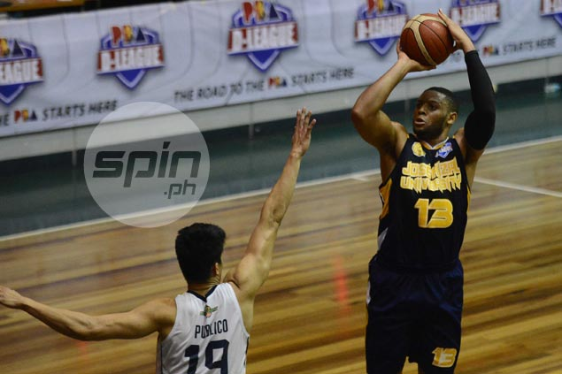 Meneses wants 'missing link' Poutouochi to step up for JRU to make waves in D-League playoffs