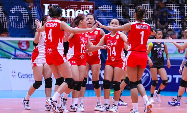 F2 takes on Cignal, Foton battles Petron in PSL All Filipino semifinals