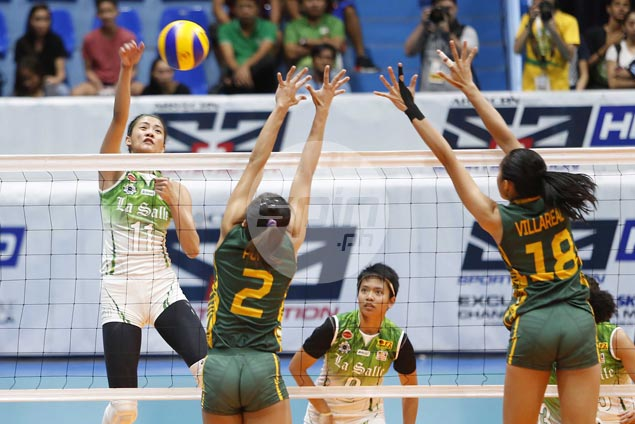 La Salle Lady Spikers back on track with dominant win over FEU Lady Tamaraws