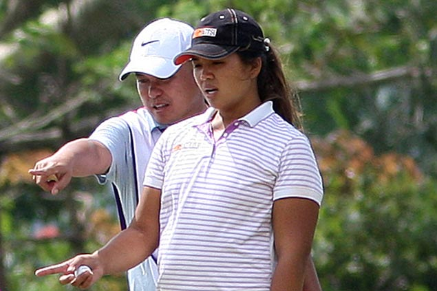Mia Piccio one stroke off as Thai teen golfer sets pace at windy Splendido