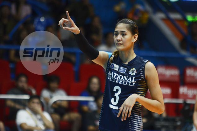 Jaja Santiago not letting MVP race distract her from goal of ending NU title drought